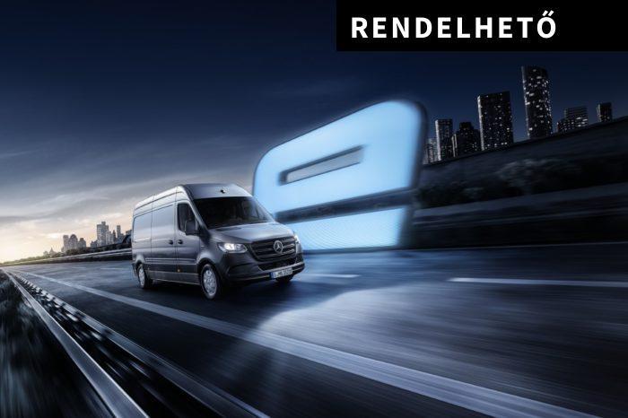 Mercedes-Benz eSprinter 312 Zárt áruszállító